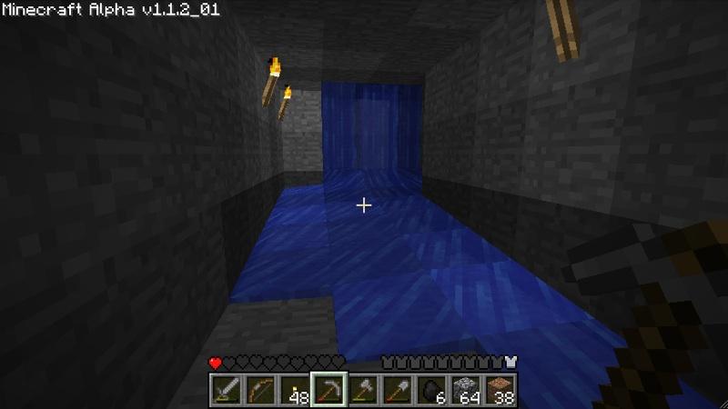 MineCraft Am Anfang War Der Block Tolle Thesen Testen - Minecraft haus aus wasser bauen